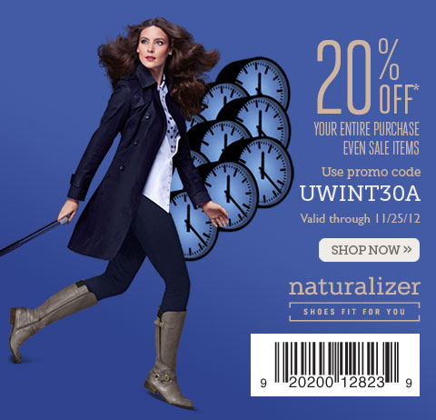 20% off your entire purchase - use promo code UWINT30A