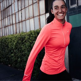 NIKE ELEMENT HALF-ZIP | The perfect running top for cooler days | SHOP COLD-WEATHER ESSENTIALS