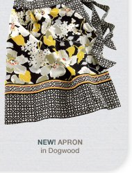NEW! Apron in Dogwood