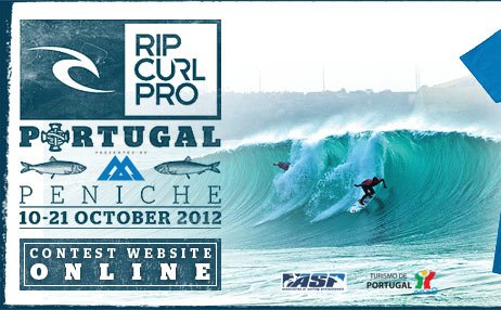 Rip Curl Pro Portugal - Peniche - 10-21 October, 2012 - Contest Website Online