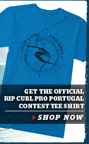 Get The Official Rip Curl Pro Portugal Tee Shirt - Shop Now