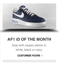AF1 iD OF THE MONTH | Customize Yours