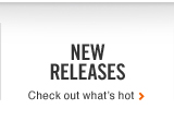 NEW RELEASES | Check out whats hot