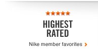 HIGHEST RATED | Nike member favorites