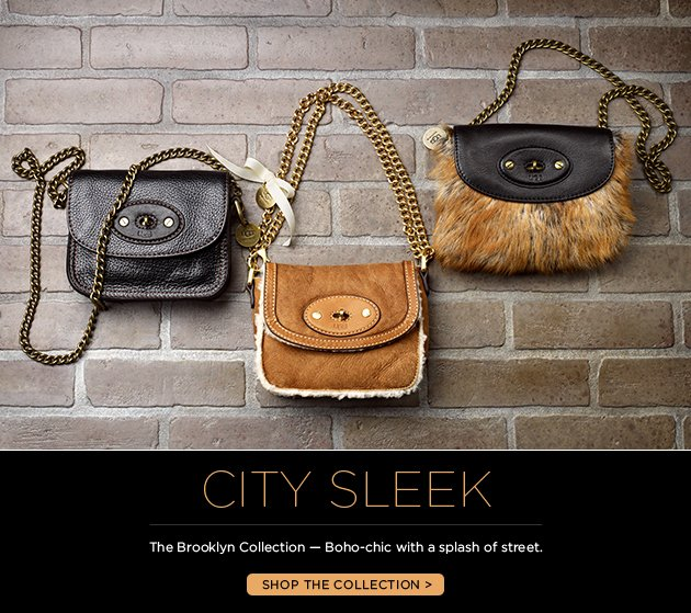 City Sleek - The Brooklyn Collection - boho-chic with a splash of street - Shop the collection