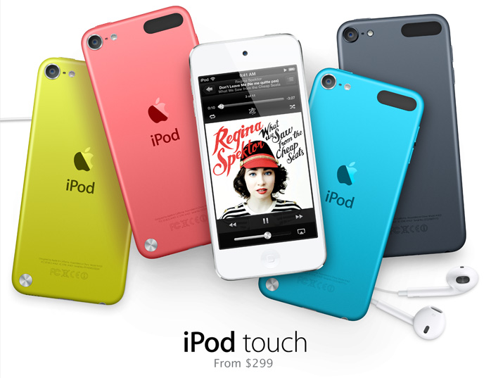 iPod touch. From $299.