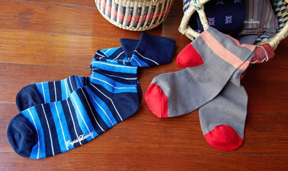 English Laundry Socks - Visit Event
