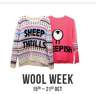 Wool Week 15th - 21st October - Read The Interview