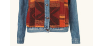 MOTO Blanket Contrast Jacket