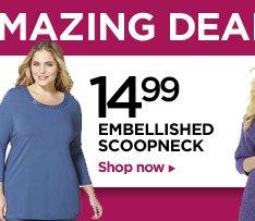 Amazing Deals: Scoopneck