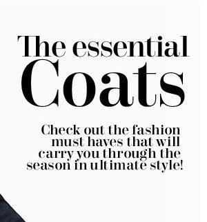 The Essential Coats