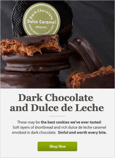 Dark Chocolate and Dulce de Leche - Shop Now