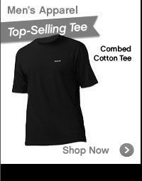 Men's Apparel | Combed Cotton Tee