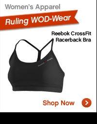 Women's Apparel | Reebok CrossFit Racerback Bra