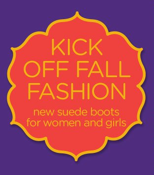 Kick Off Fall Fashion - new suede boots for women and girls