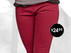 Pull On Color Jegging