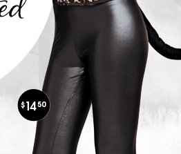 Shiny Latex Legging