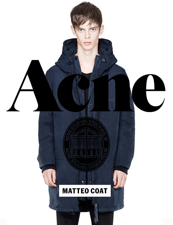 Acne Studios Fall 2012 Matteo Coat