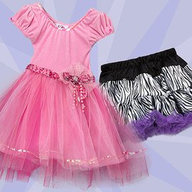 Dress-Up Dreams: Girls' Apparel