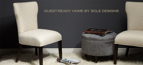 GUEST-READY HOME BY SOLE DESIGNS, Event Ends October 16, 9:00 AM PT >