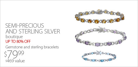 Semi precious and sterling silver blow out 80% off
