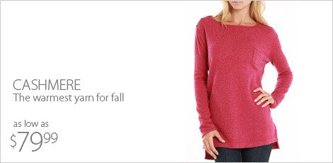 cashmere- The warmest yarn for fall