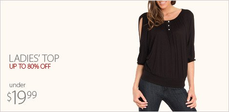 Ladies' Top under $19.99