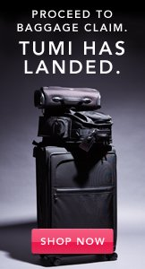 Tumi Has Landed. Shop Now.
