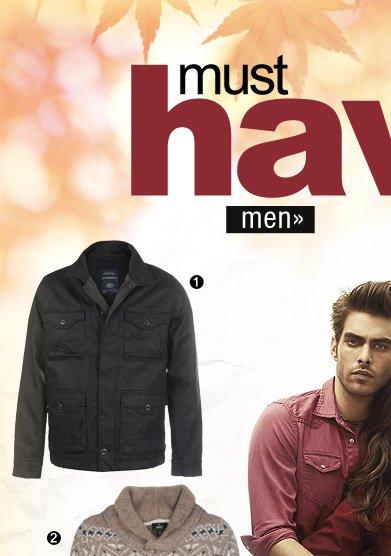 must haves - men
