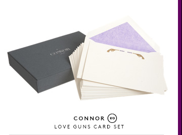 CONNOR LOVE GUNS CARD SET