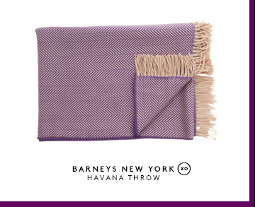 BARNEYS NEW YORK HAVANA THROW