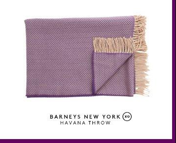 BARNEYS NEW YORK HAVANA THROW