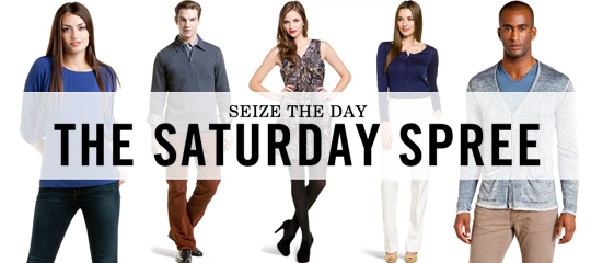 Seize the Day:The Saturday Spree
