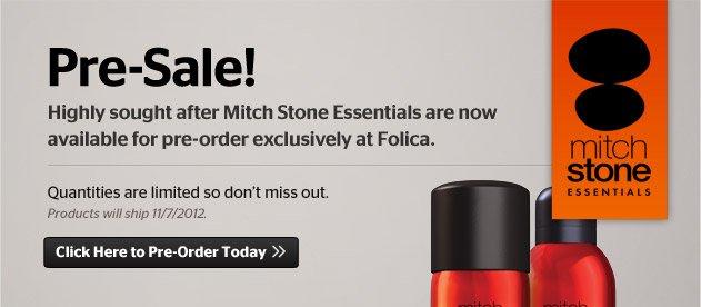 Mitch Stone Pre-Sale