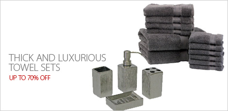 Thick and Luxurious Towel Sets