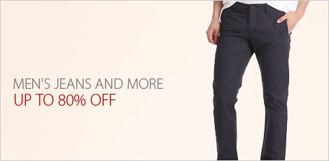 Men's Jeans and More