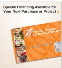 SPECIAL FINANCING AVAILABLE FOR YOUR NEXT PROJECT