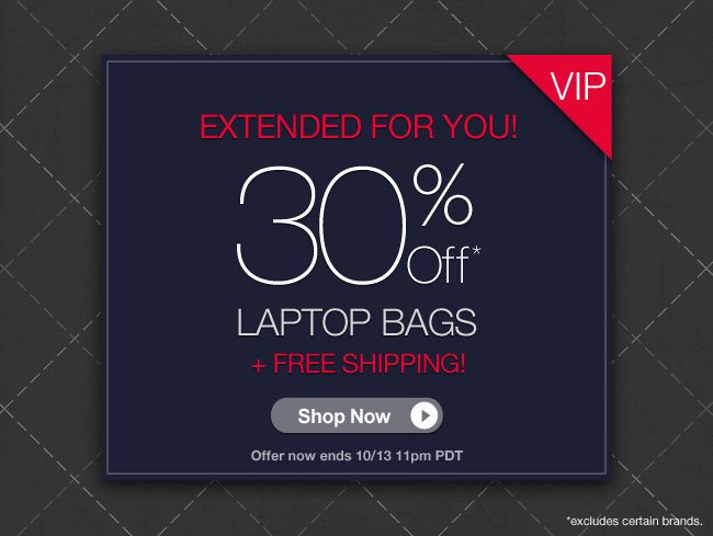 30% Off Luggage Sets