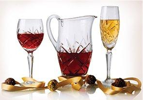 Kathy Ireland Glassware