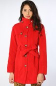<b>Jack BB Dakota</b><br />The Connell Poly Blend Coat in Red