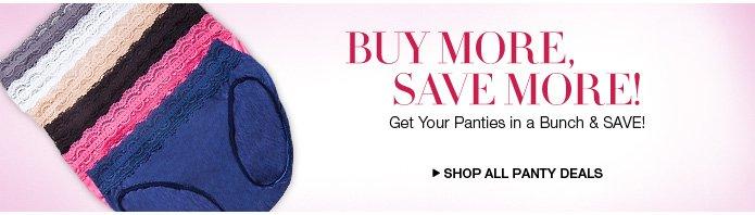 Shop All Panty Deals