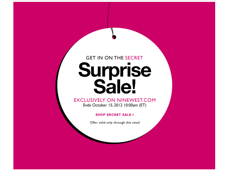 Click here to shop Secret Sale