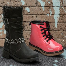 Bold Steps: Girls' Boots