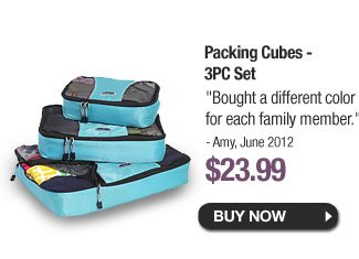 Packing Cubes - 3PC Set - Buy Now