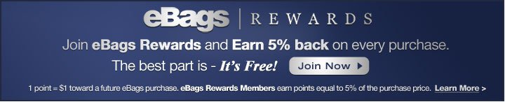 Join eBags Rewards Club