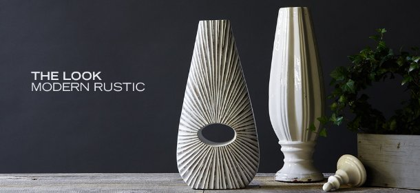 THE LOOK: MODERN RUSTIC, Event Ends October 17, 9:00 AM PT >