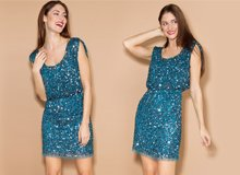 For Party Season Sparkling, Sequined Dresses