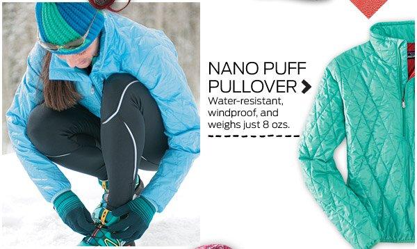 Nano Puff Pullover >