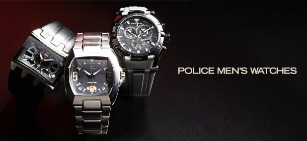POLICE MEN'S WATCHES, Event Ends October 17, 9:00 AM PT >