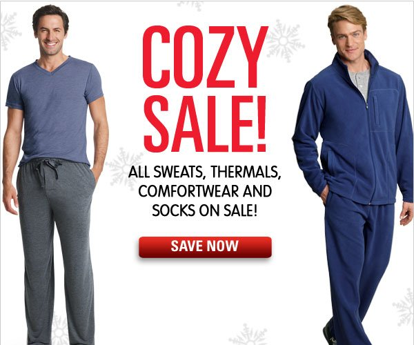 All sweats, lounge, thermals & socks on sale